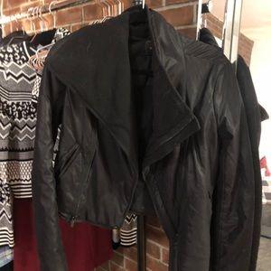 BCBG Cropped Coat